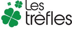 Les trèfles logo DE vecto