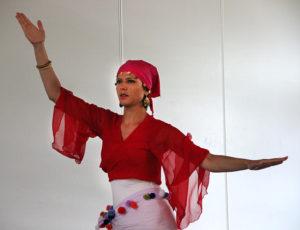 démonstration, danse orientale, audrey bordereau, élèves, parc des sports des glaisins