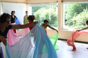 stage été,samett,centre les alérions,danse,orient,musicien,talloires