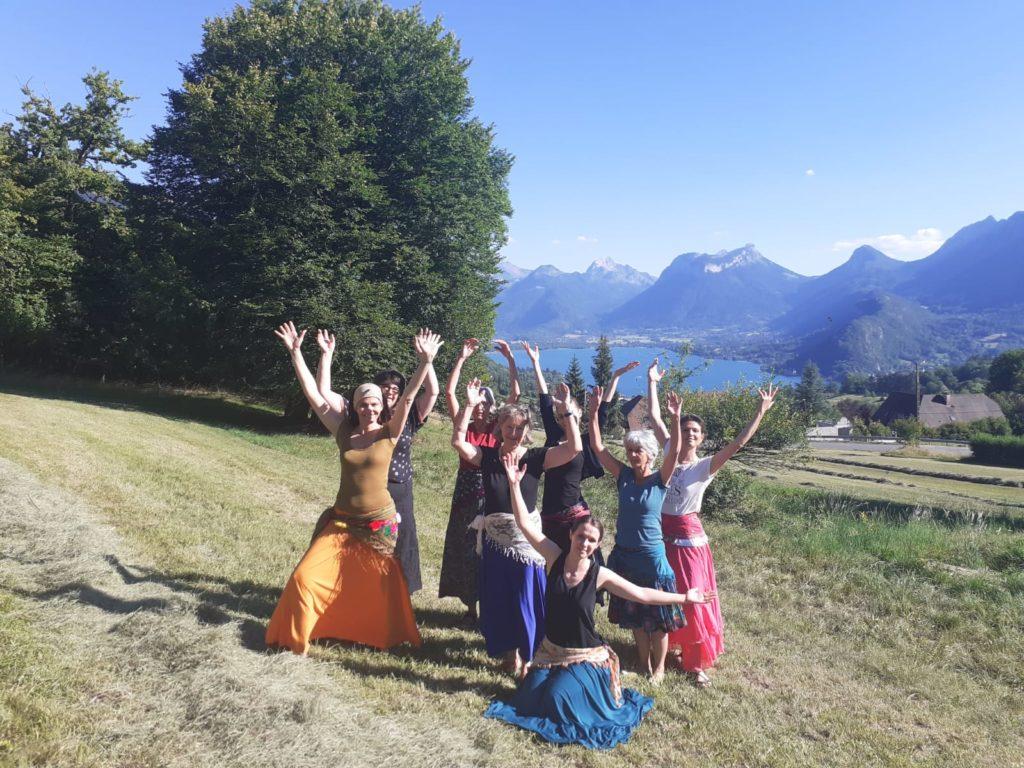 élèves, égypte, danse, annecy, talloires